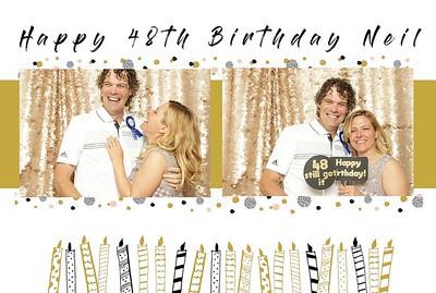 Neil is 48! Surprise Birthday
