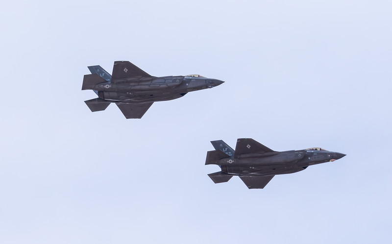 "-(Aircraft) Lockheed Martin F-35A Lightning II<br /> -(Nation & Service) United States Air Force<br /> -(Squadron) 62nd Fighter Squadron ""Spike War Dawgs"" <br /> -(Home Base) Luke Air Force Base, Arizona"