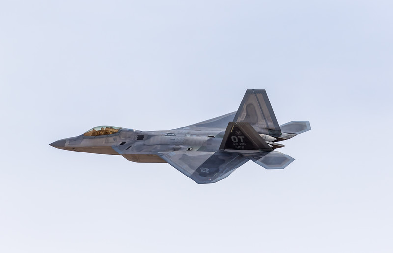 "-(Aircraft) Lockheed Martin F-22A Raptor <br /> -(Nation & Service) United States Air Force<br /> -(Squadron) 422nd Test & Evaluation Squadron ""Green Bats""<br /> -(Home Base) Nellis Air Force Base, Nevada"