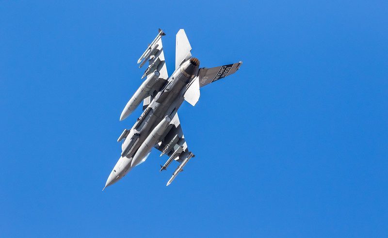 """-(Aircraft) General Dynamics F-16CJ Fighting Falcon<br /> -(Nation & Service) United States Air Force<br /> -(Squadron) 157th Fighter Squadron """"Swamp Fox""""<br /> -(Home Base) McEntire Joint National Guard Base, South Carolina"""