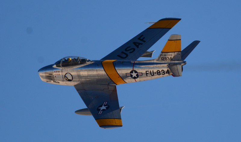 Here is the F-86 Sabre! The jet fighter that would take us from the Korean war and beyond!