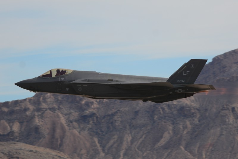 The F-35 Lightning Stealth fighter!