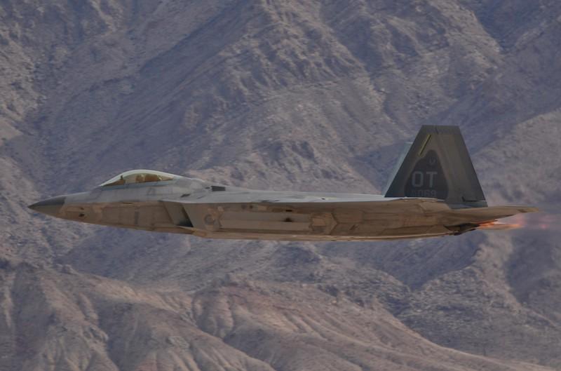 The F-22 Raptor Stealth fighter