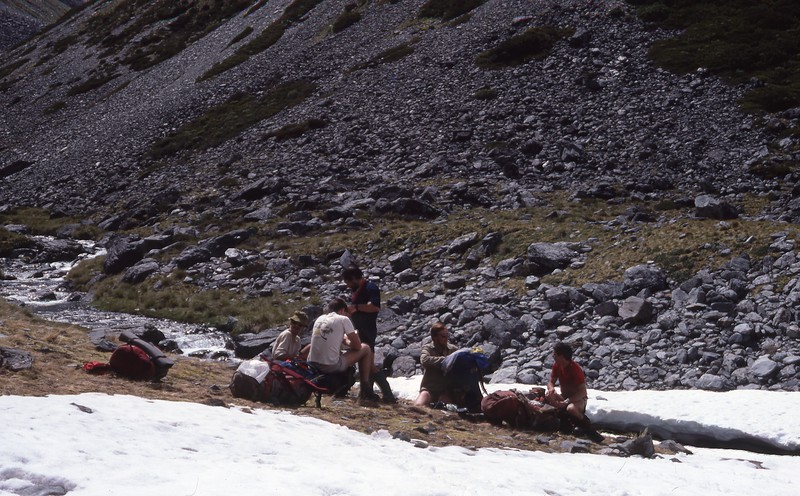 Xmas Trip 1986-87 (Lewis Pass to Lake Rotoroa)