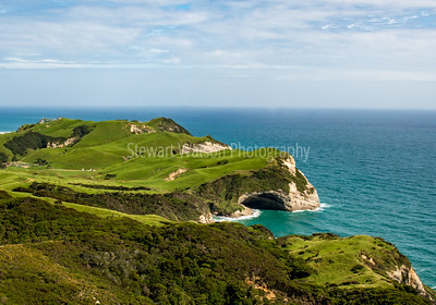 Rolling hills of Cape Farewell