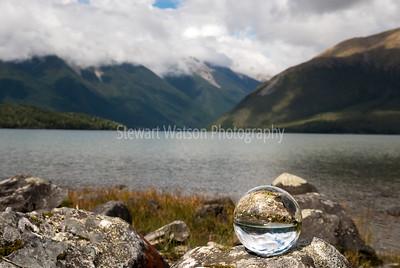 Lake Rotoiti glass ball