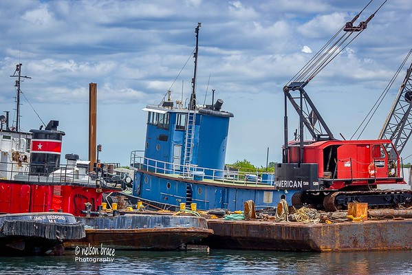 20160610 - New Bedford Harbor Tugs