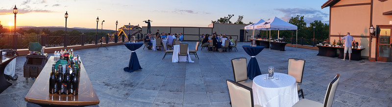 SYSCO Corporation Event on the Plaza Deck at Nemacolin