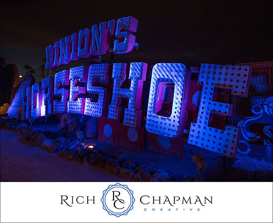 © Rich Chapman Photographers - The Neon Museum in Las Vegas offers one-hour guided tours of iconic, historic and relic Las Vegas signs in what is called the Neon Boneyard.