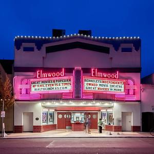 us-ca-berkeley-neon-theater-elmwood-theater-2966-college-neon-glowing-night-twilight-front-straight-01-HDR