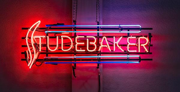 Studebaker Dealer Sign.