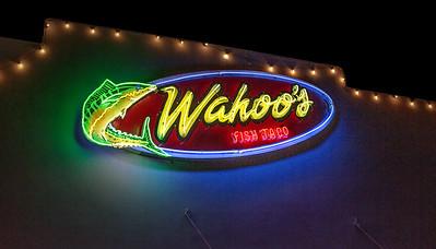 Wahoo's Fish Tacos.