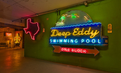 Neon Sign Display.
