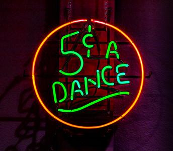 Five cents a Dance