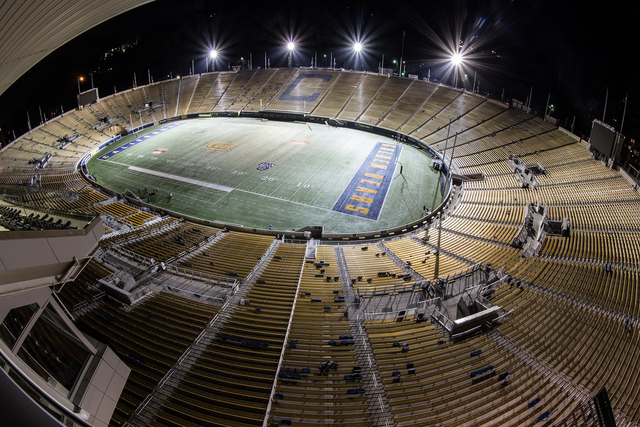 UC Memorial Stadium — Before The Crowds