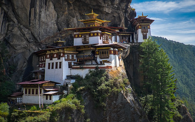 """""""Tiger's Nest"""" Monastery. Bhutan--October 2014--The People, Places, Culture"""