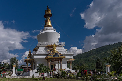 National Memorial Choeten. Bhutan--October 2014--The People, Places, Culture