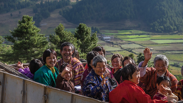 Festival at Gangtey Gompa Bhutan--October 2014--The People, Places, Culture
