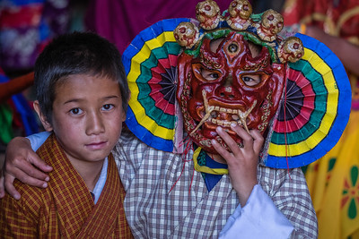 Festival at Tamshing Monastery (1501) Bhutan--October 2014--The People, Places, Culture
