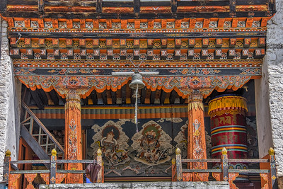 Ancient Hand-Painted Monasteries. Bhutan--October 2014--The People, Places, Culture