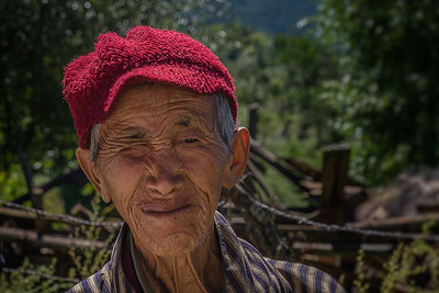 Ogyen (Ugyen) Choling village (2800m) Bhutan--October 2014--The People, Places, Culture