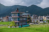 Pokhara Scenes: People, Religion, Life in Kathmandu and Pokhara, Nepal, September, 2014