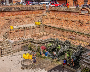 Streets, Temples and People of Kathmandu, Nepal