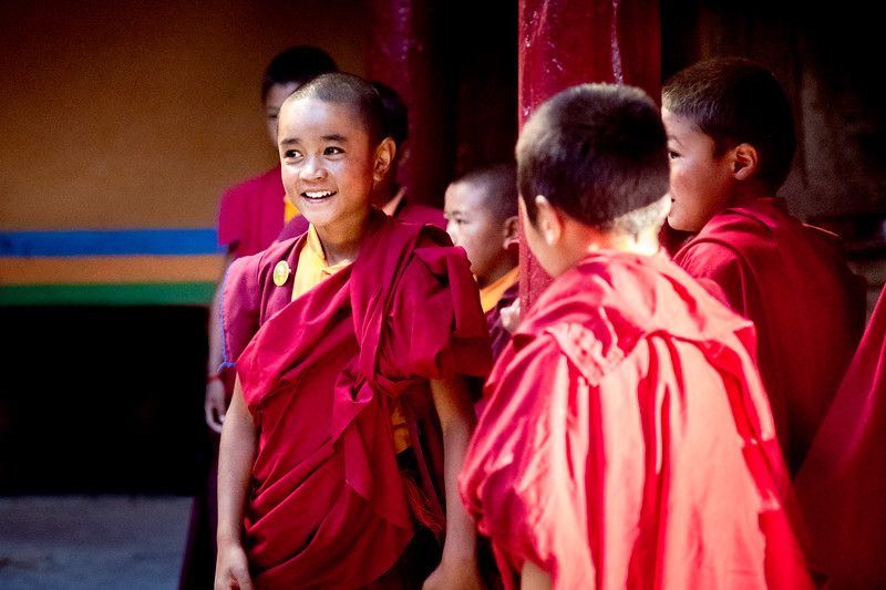 Young Monks, Lamayuru, Ladakh