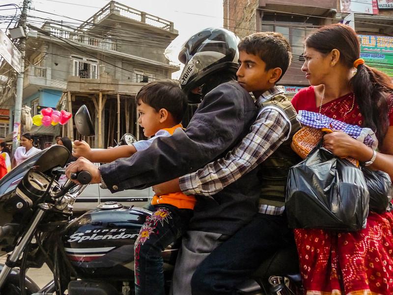 Tihar Markets, Kathmandu, Nepal