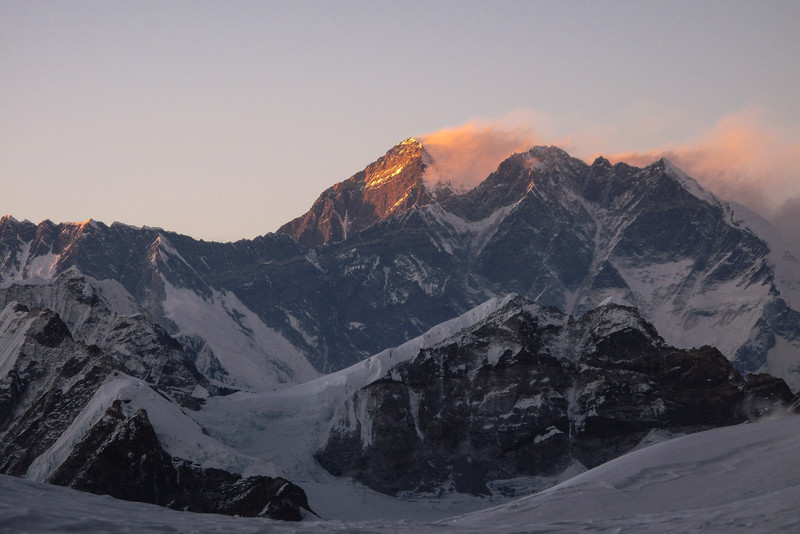 Everest en Lhotse
