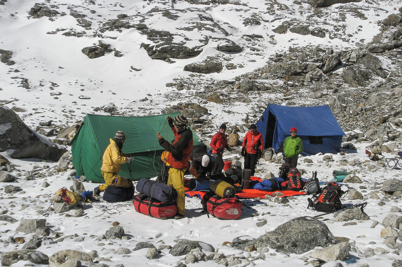 Mera Peak base camp. Wat gaat wel mee en wat niet?