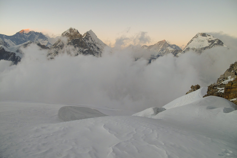 Everest, Lhotse, Makalu