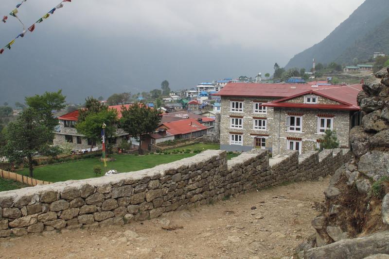 terug in Lukla