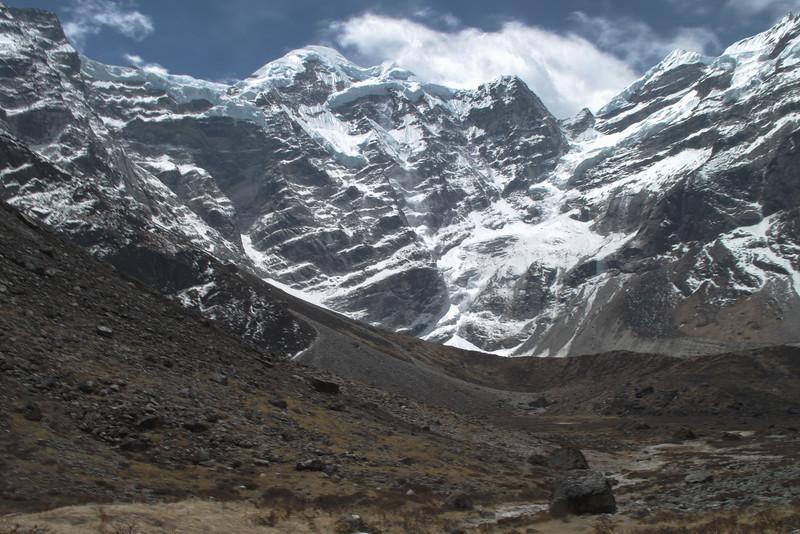 Zuidwand van de Mera Peak