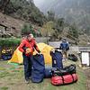 ons eerste camp in Puyan (2800m)