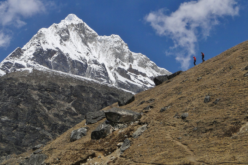 berg zonder naam (6257m)