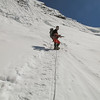 Mingmar net onder de ijswand van Island Peak