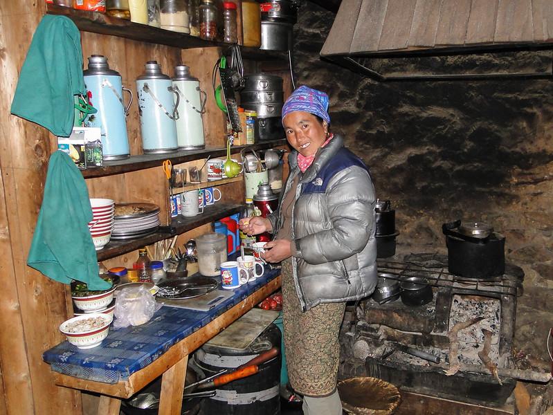 vrouw in Tangnag