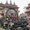 Kathmandu, Durbar square, god Kali