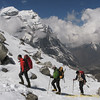 Khare --> Mera Peak base camp (Mera La) 5350m