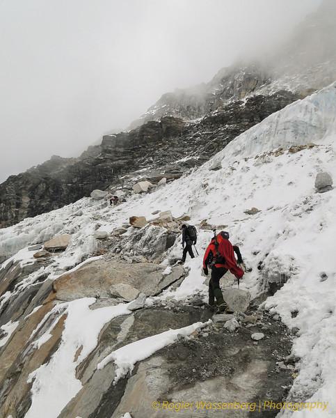 net voor de gletsjertong