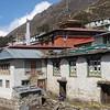 klooster van Pangboche (het oudste van Nepal)<br /> Pangboche monastery (oldest of Nepal)