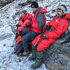 korte pauze (erg koud)<br /> short break (very cold)