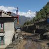 op de Everest Base Camp trail