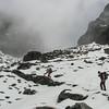net onder de pas (4450m)
