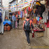 winkelstraat in Namche Bazar<br /> shopping street in Namche Bazar