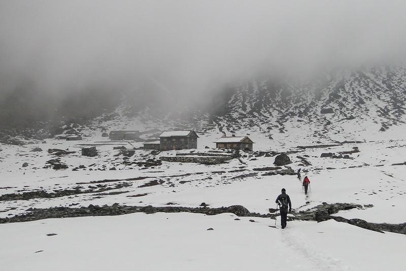 Cliola Kharka (4145m)