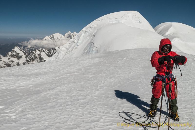 Mingmar. Mera Peak, centrale top