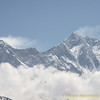 Mt Everest - Lotse, vanuit Pangboche<br /> Mt Everest - Lotse, from Pangboche