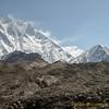 Lhotse (8502m) en Island Peak (6190m)<br /> Lotse (8502m) en Island Peak (6190m)